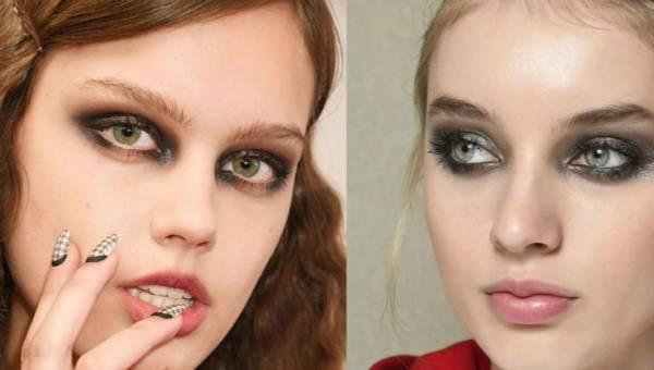 Smokey eyes – klasyczny wieczorowy makijaż krok po kroku