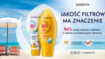 Produkty do opalania Soraya na słoneczny maj