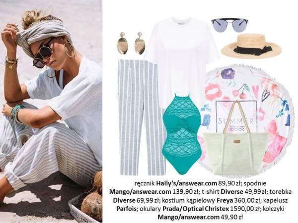 618e35ff906ffe Moda plażowa 2018: szykowne stylizacje - KobietaMag.pl