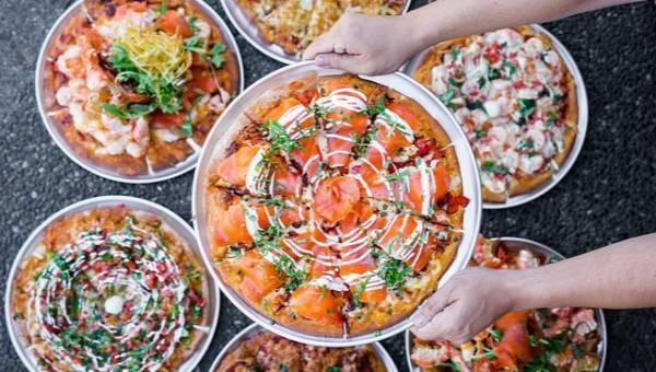 Bukiet ślubny z pizzy – nowy szalony trend wśród nowojorskich panien młodych!