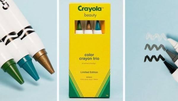Pamiętasz kredki Crayola? Teraz znów możesz ich używać! Crayola tworzy kosmetyki!