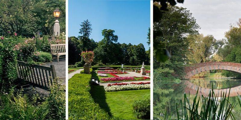 Najpiękniejsze ogrody w Polsce
