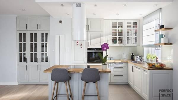 Urządzanie kuchni: półwysep zamiast stołu?