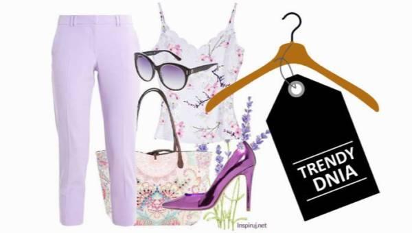 Lawendowe wzgórze – romantyczna stylizacja w pastelowym fiolecie