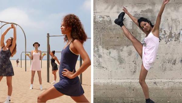 Kobieca i piękna na zajęciach fitness? Powstała… sukienka do ćwiczeń!