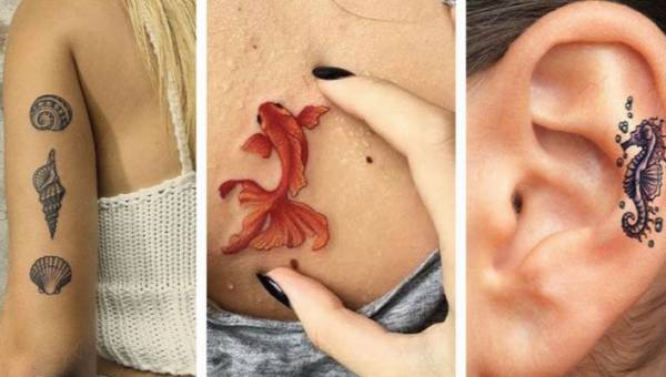 Tatuaż z morskim motywem – ozdoba idealna na plażę albo wakacyjny rejs!
