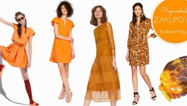 Przewodnik zakupowy: ubrania w kolorze bursztynu idealne na ciepłe lato!