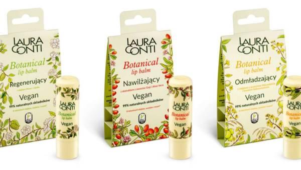 Laura Conti, BOTANICAL Lip Balm Vegan – nowa linia wegańskich balsamów do ust