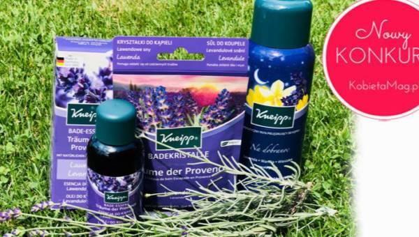 Konkurs: Lato w Prowansji z kosmetykami Kneipp