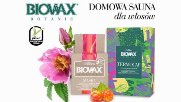 Nowości od L'biotica: Maska z maliną moroszką i Domowa sauna na włosy!