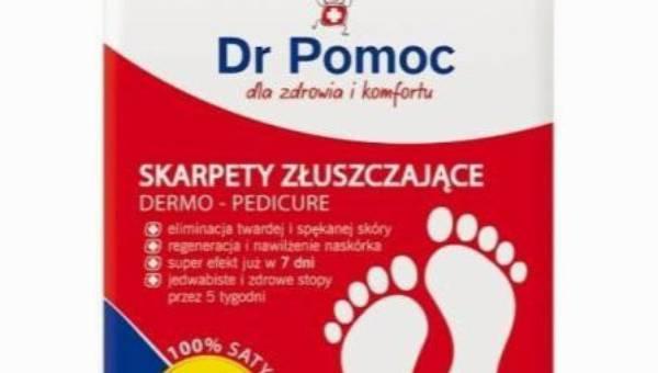 Dr POMOC Skarpety złuszczające Max Regeneracja