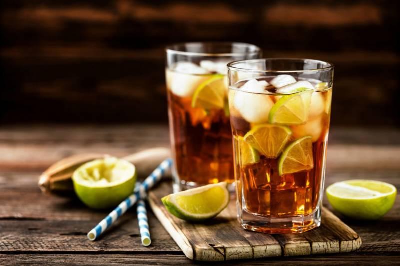 Egzotyczne drinki  na bazie herbaty