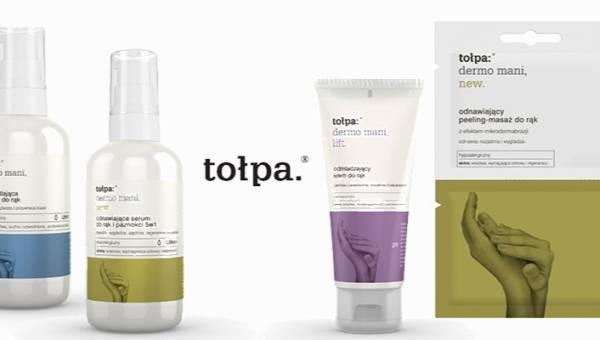 Tołpa dermo mani – polska marka wypuszcza nową linię do pielęgnacji dłoni