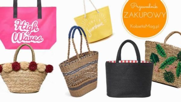 Przewodnik zakupowy: najładniejsze torby plażowe 2018