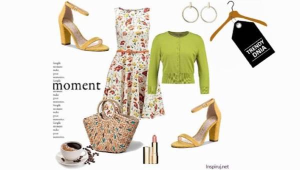 Moda i łąka, czyli look inspirowany naturą