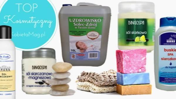 Top kosmetyczny: najlepsze sole siarczkowe do kąpieli