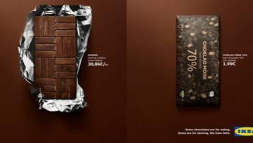 Kreatywna kampania Ikei – meble jak… czekolada!