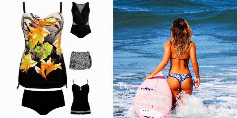 stroje plażowe na różne typy sylwetek