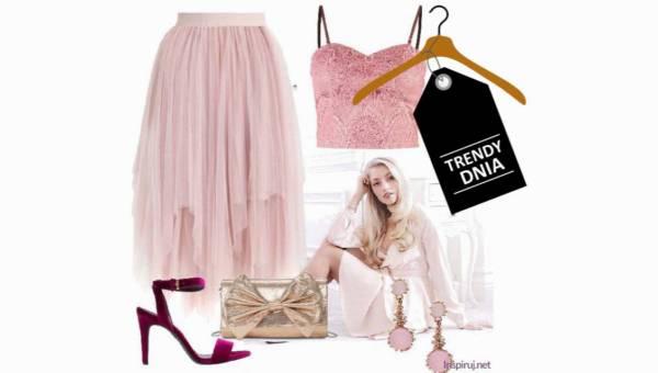 Letnia stylizacja z tiulową spódnicą –  #primabalerina