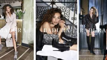 BADURA buty i torebki – kampania ICONS jesień zima 2018/2019