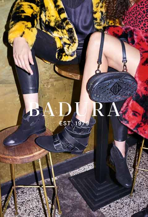 4c0f70b00bdcf Marka Badura utrzymała swoją kampanię w klimacie retro przeplatając ją  jednak glamrockowymi nawiązaniami. Wieczorowe stylizacje w barowej  atmosferze ...