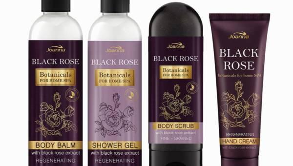 Kosmetyki z czarną różą – pachnące i odmładzające nowości od Joanny
