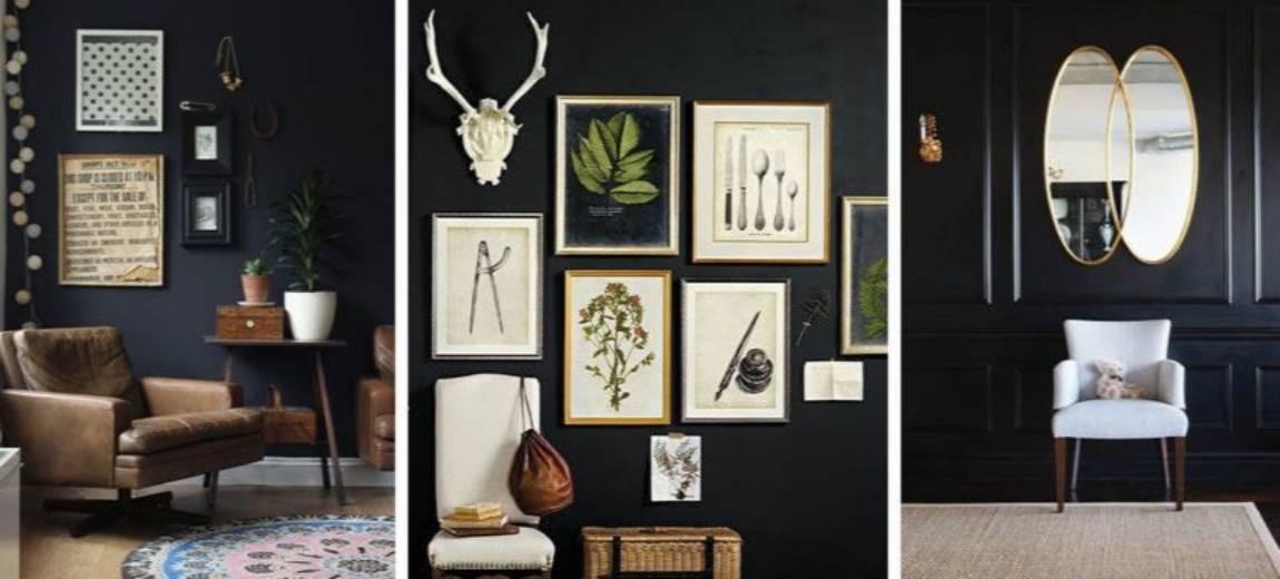 Czarne ściany w domu – nowy, oryginalny trend w aranżacji wnętrz!