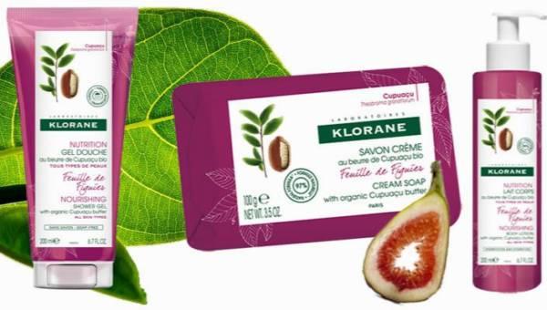 Nowość: naturalne kosmetyki do pielęgnacji ciała KLORANE, Liść Figowy