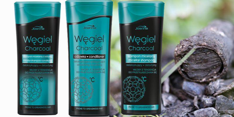 węglowy detoks dla włosów