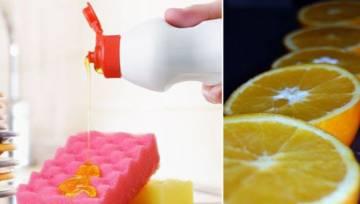 Przepis na wegański płyn do naczyń o przyjemnym zapachu cytrusów. Zrób go sama!