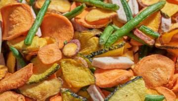 Chipsy z warzyw to zdrowa alternatywa dla pustych i tuczących kalorii