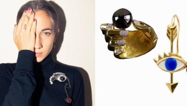 Delfina Delettrez – kreatorka luksusowej biżuterii, która puszcza oko