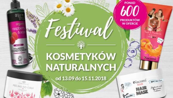 Festiwal kosmetyków naturalnych w Hebe. Produkty, które powstały w zgodzie z naturą w promocyjnych cenach
