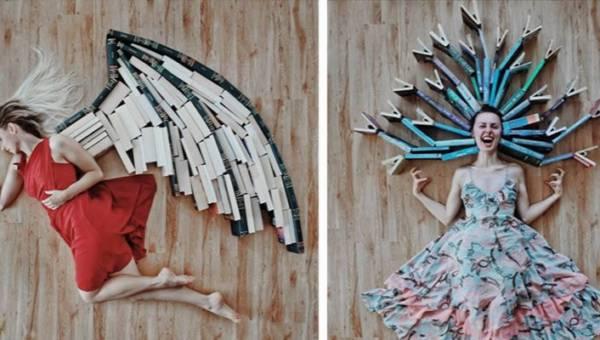 Jak zachęcić do czytania książek? Instagramerka Elizabeth Sagan znalazła oryginalny sposób!