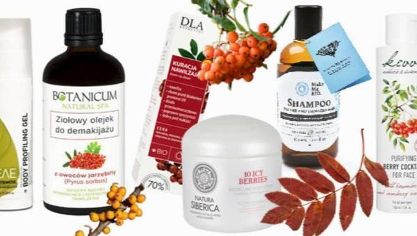 Kosmetyki z jarzębiną – niech w twojej łazience zagości ciepła jesień!