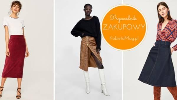 Najmodniejsze spódnice na jesień 2018 z sieciówek. Wybraliśmy dla was modele do 150 złotych