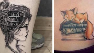 Tatuaż z książką – najlepsze pomysły na wzór dla miłośniczek słowa pisanego