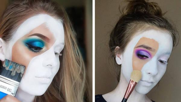 Twarz jako płótno. Instagram podbija dziwny makijażowy trend!