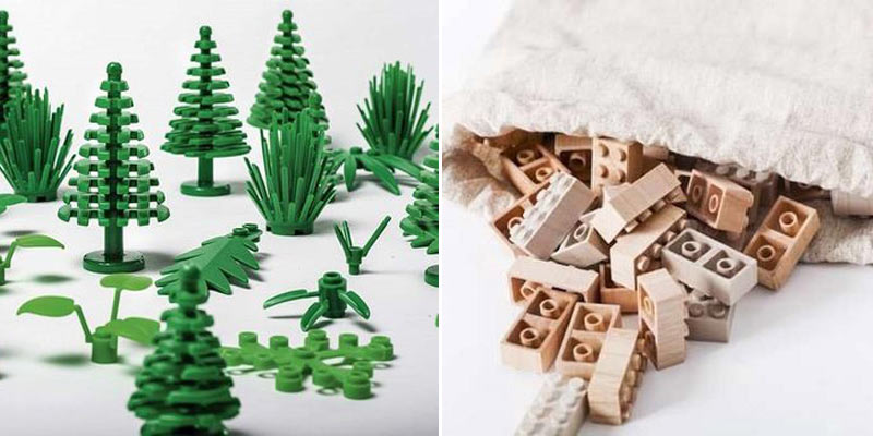ekologiczne klocki Lego