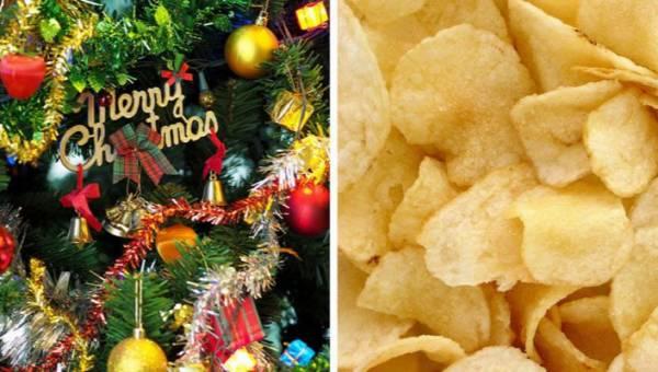 Chipsy o smaku choinki bożonarodzeniowej! Możesz je kupić w Wielkiej Brytanii