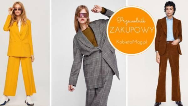 Przewodnik zakupowy: damskie garnitury na jesień 2018 z sieciówek