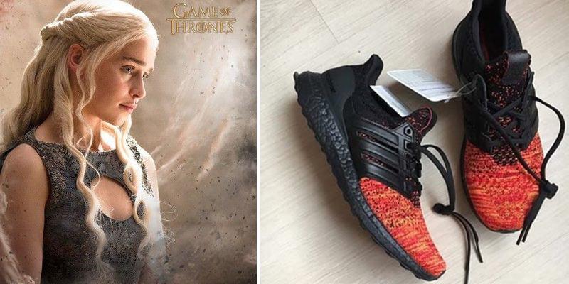 """sneakersy z """"Gry o Tron"""""""