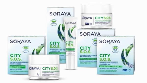 Pielęgnacja w miejskim stylu z nową serią Soraya City S.O.S.