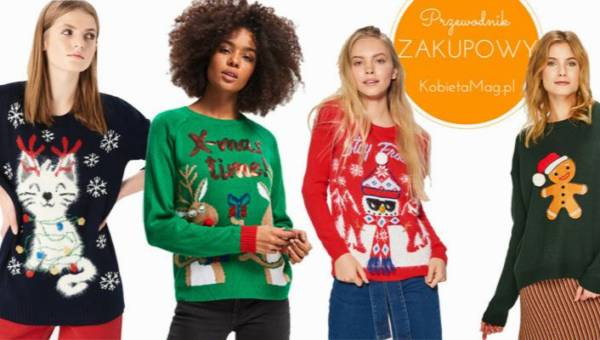 Przewodnik zakupowy: słodkie świąteczne swetry 2018 z sieciówek