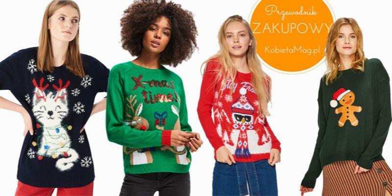 świąteczne swetry 2018