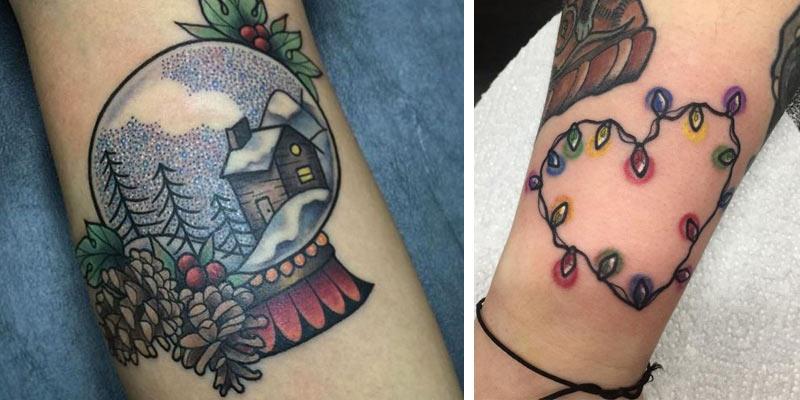 świąteczne tatuaże