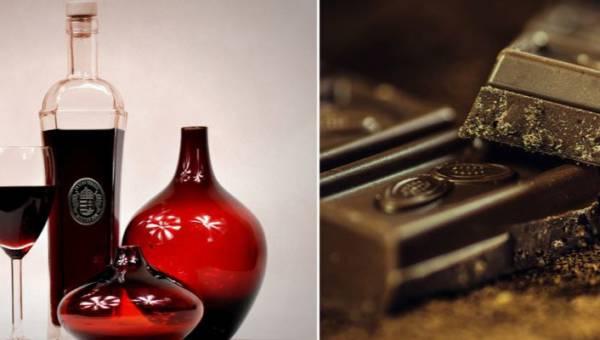 Wino czekoladowe, czyli połączenie dwóch najprzyjemniejszych smaków. W sam raz na jesienną słotę!