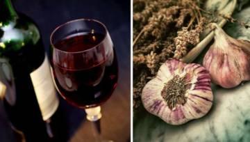 Czerwone wino z czosnkiem działa jak antybiotyk
