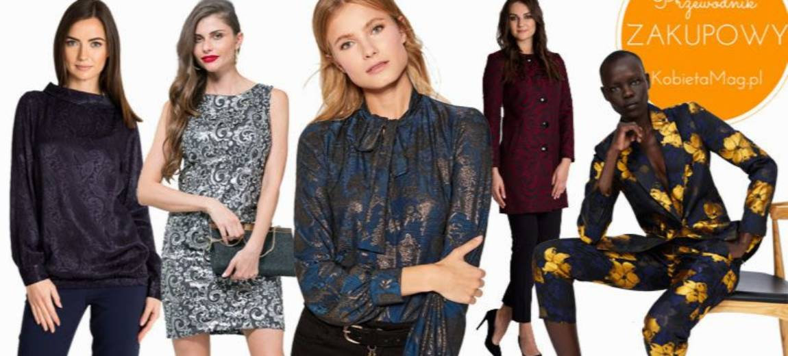 Przewodnik zakupowy: czas na żakard! Ubrania w stylu projektów haute couture