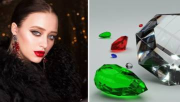 Duże kolczyki z kamieniami – Twoje uszy pokochają najmodniejsze zdobione modele XXL